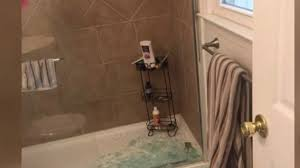 The Shower Door 7 On Your Side Shattering Shower Doors Damage Bathrooms Cause