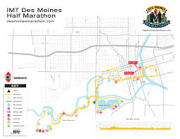 Map Of Des Moines Iowa Half Marathon Map Imt Des Moines Marathon