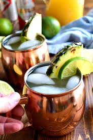 pineapple moscow mules lemon tree dwelling