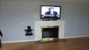 tv installation on wall over fireplace dallas austin tx texas