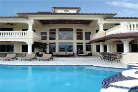 luxury house plans with pools luxury home with 6 bdrms 7100 sq ft floor plan 107 1085
