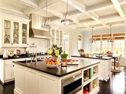 kitchen island with drawers light oak cabinets a black at large