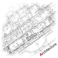architecture plan architectural background part of architectural project