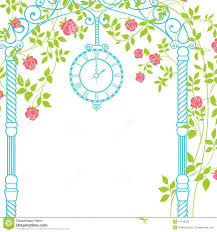 wedding arch leaves wedding arch stock vector image 47416093