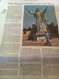 the new york times publishes rorate cæli new york times publishes op ed on tlm in nigeria