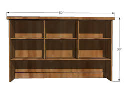 Unfinished Bookshelf Kitchen Endearing Diy Rustic Kitchen Hutch Farmhouse Sideboards