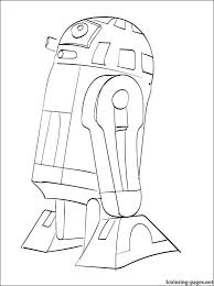 star wars r2 d2 printable page to color coloring pages
