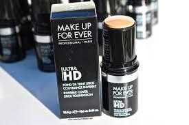 beauty professor make up forever ultra hd invisible cover stick