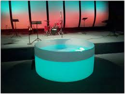 portable baptismal portable baptismal pool like the see through backlit element