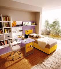 small kids room ideas design with purple wooden laptop desk f