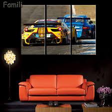online get cheap 3 piece car canvas wall art aliexpress com