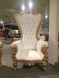 rent chair throne chair ivory w gold trim rentals new orleans la where to