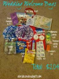 wedding gift on a budget mjkh wedding week survival bags are done lots of pics