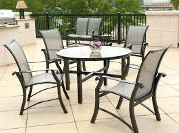 Glass Patio Table Set Essential Garden Fulton Dining Table Rectangular Glass Patio Table