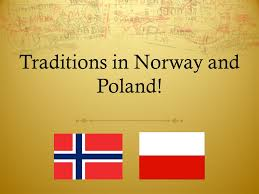traditions in and poland traditions in there are