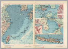 China Sea Map by South China Sea South East Asia Selected Areas Pergamon World