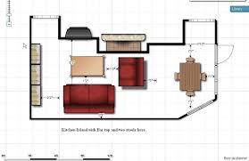 floor plan couch sofa size floor plan fireplace kitchen family room home