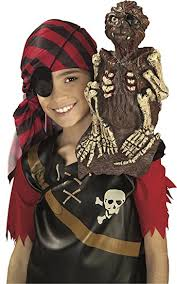 Monkey Halloween Costumes Amazon Rubie U0027s Costume Monkey Shoulder Pirate Costume