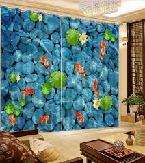 Living Room Curtains For Blue Room Online Get Cheap Blue Room Curtains Aliexpress Com Alibaba Group