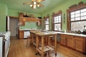 green painted kitchen backsplash innovative kitchen with green