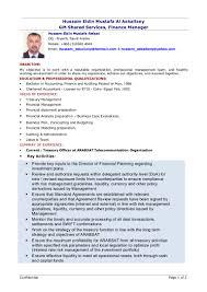 Sample Resume Senior Accountant Hussam Assqalani Cv Feb U0027 2012