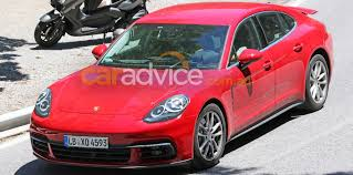 porsche panamera 2015 red 2017 porsche panamera body styling revealed in new spy photos