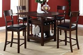 pub table with wine rack dining room wine rack buy wooden bistro table with wine rack storage