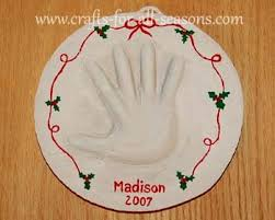 handprint plaque for baby or a small child