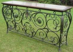 Wrought Iron Console Table Wrought Iron Console Table Amazing S Wrought Iron Console Table