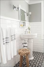 Subway Tile Backsplash Bathroom - bathroom amazing subway tile with accent mosaic bathroom glass