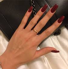 25 unique deep red nails ideas on pinterest wine nails nail