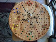 rock maple hardwood aggravation board game aggravation board