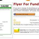 fundraising brochure template fundraiser flyer template 31 free