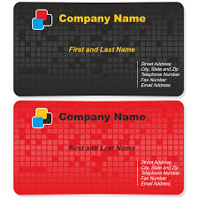 vector for free use tech business card set