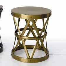 Bronze Accent Table Home Costello Side Table In Distressed Bronze Wayfair