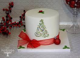 classic christmas cake designs cake geek magazine