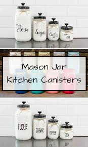 Copper Kitchen Canisters Best 25 Kitchen Canisters Ideas On Pinterest Country Style