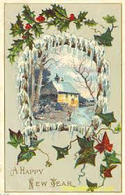 new year s postcards edwardian new year s postcards