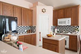 kitchen backsplash ideas black cabinets 7 diy kitchen backsplash ideas that are easy and inexpensive