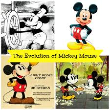 evolution mickey mouse steamboat willie today