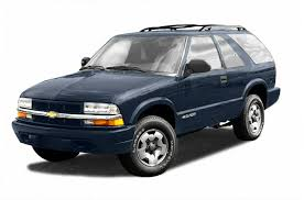2002 chevrolet blazer new car test drive