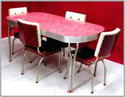 retro kitchen table and chairs set retro red kitchen table and chairs handle back red diner chairs red