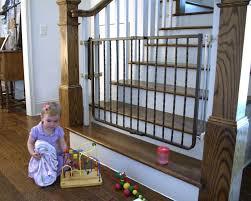 Child Gates For Stairs Amazon Com Cardinal Gates Wrought Iron Decor Gate Bronze