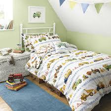 Toddler Bed Quilt Set Bedroom Childrens Tractor Bed Linen Toddler Bed Comforter Set