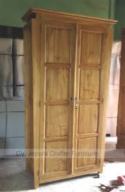 Wood Furniture Door Indonesian Teak Wood Armoire Wardrobe Cabinet Bedroom Furniture Doors