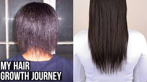 normal hair length for two year old my hair growth journey relaxed hair youtube