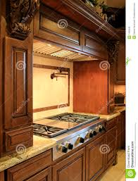 modern mansion kitchen range royalty free stock images image