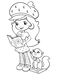 strawberry shortcake 39 coloringcolor com