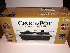 3 Crock Slow Cooker Buffet by Rival Trio 3 Quart Slow Cooker Crock Pot Buffet Cook Server