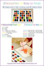 enamel paint color mixing chart ideas 40 practically useful